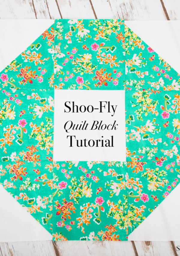 Quilt Block of the Month: Shoo-Fly Block