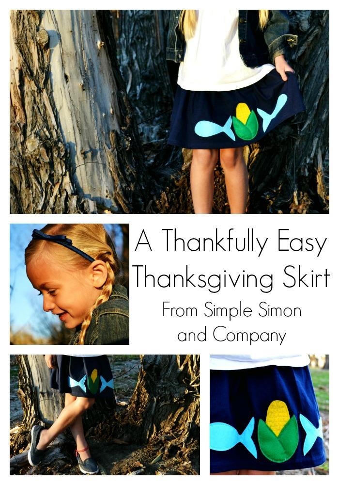 Thanksgiving Skirt Tutorial