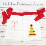 Gifts to Make: Easy Dishtowel Apron