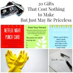 Gifts that Cost Nothing To Make (An Update)