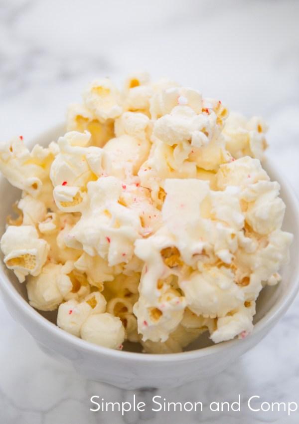 Candy Cane Popcorn Recipe
