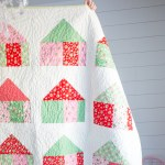 Home for the Holidays Quilt Block Tutorial
