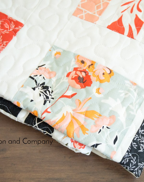 Peaches and Cream Quilt Pattern