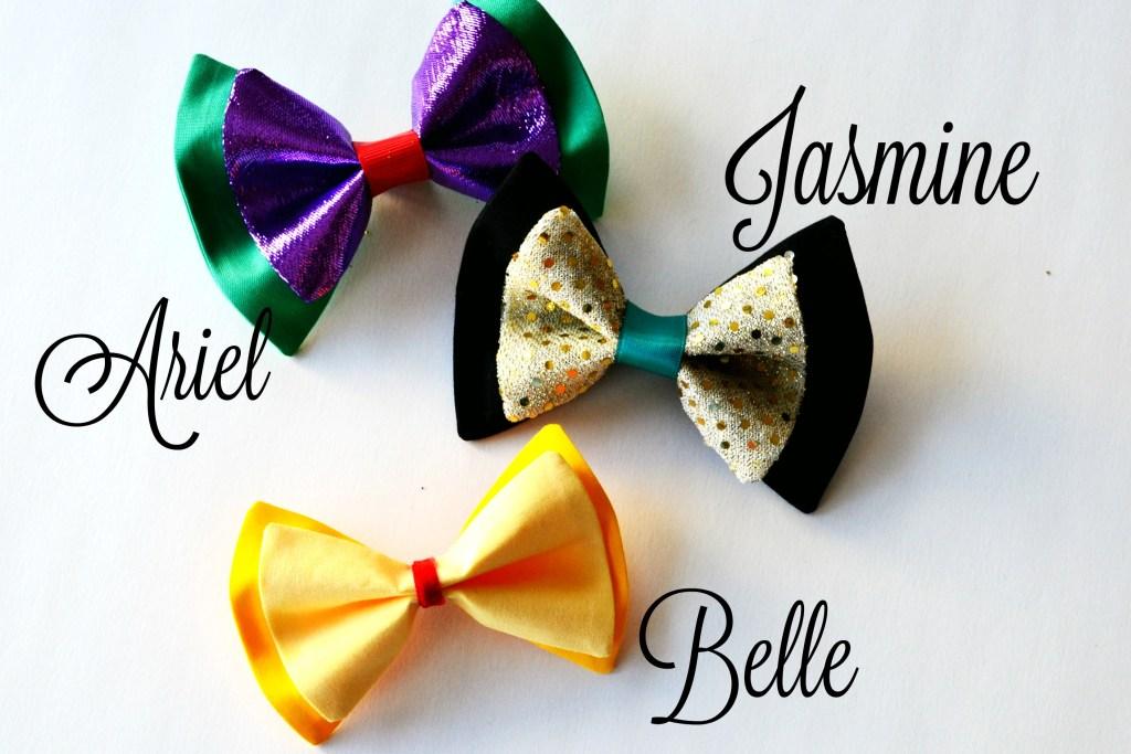 Hairbow Jasmine Ariel Belle