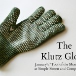 Quilting Tool of the Month:  Klutz Glove