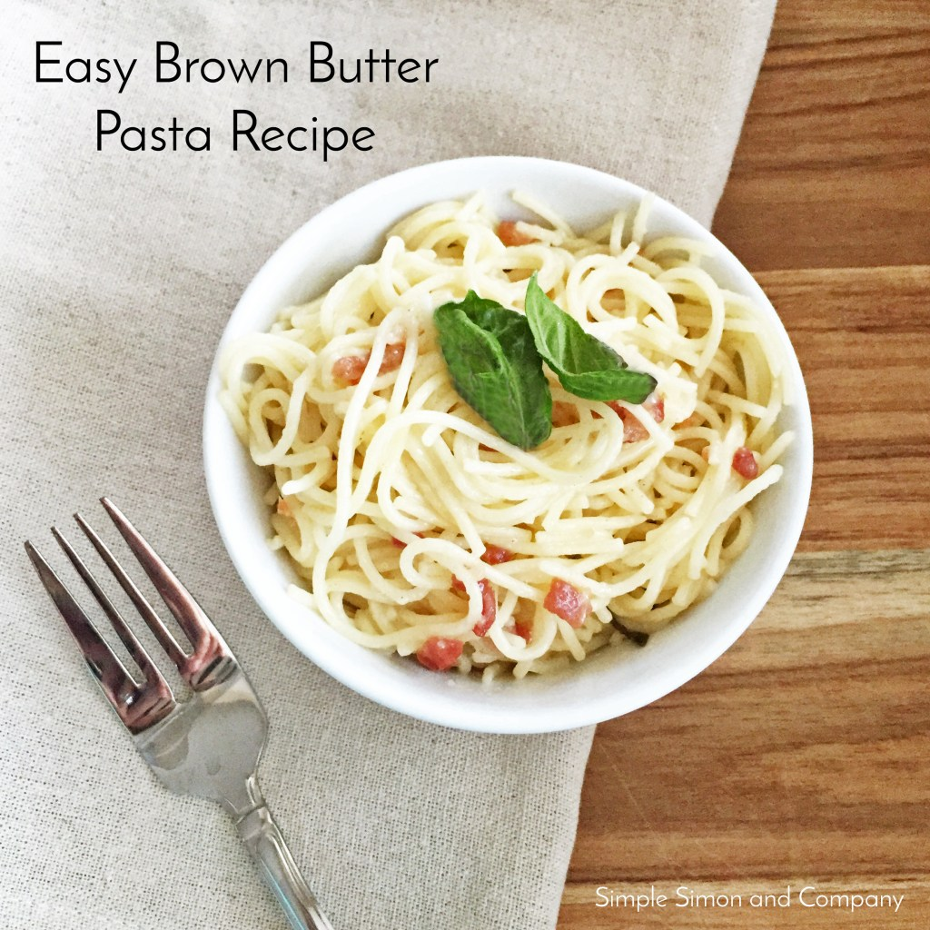 Easy Brown Butter Pasta Recipe