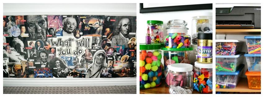 Homework Room Items