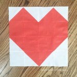 Quilt Block of the Month: Heart Quilt Block