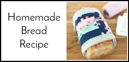 homemade bread recipe button