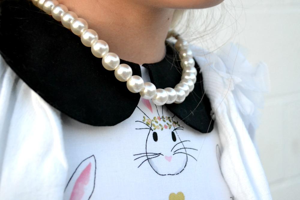 Bunny Dress Detail