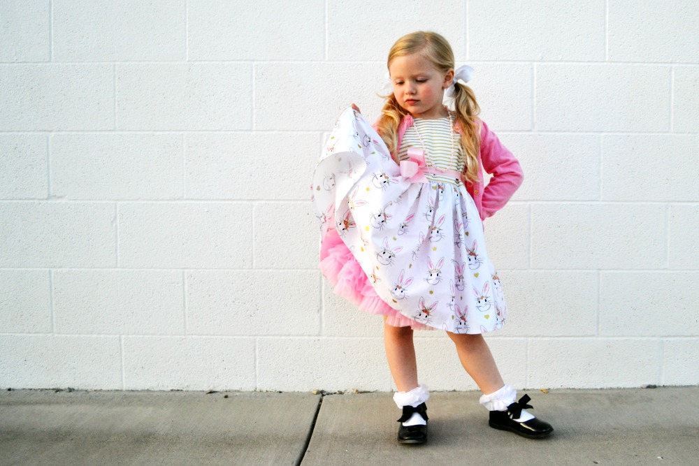 Bunny dress with petticoat Ruth