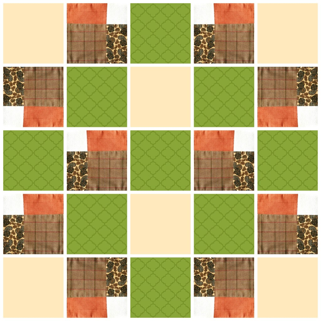 Grandfathers Quilt Layout
