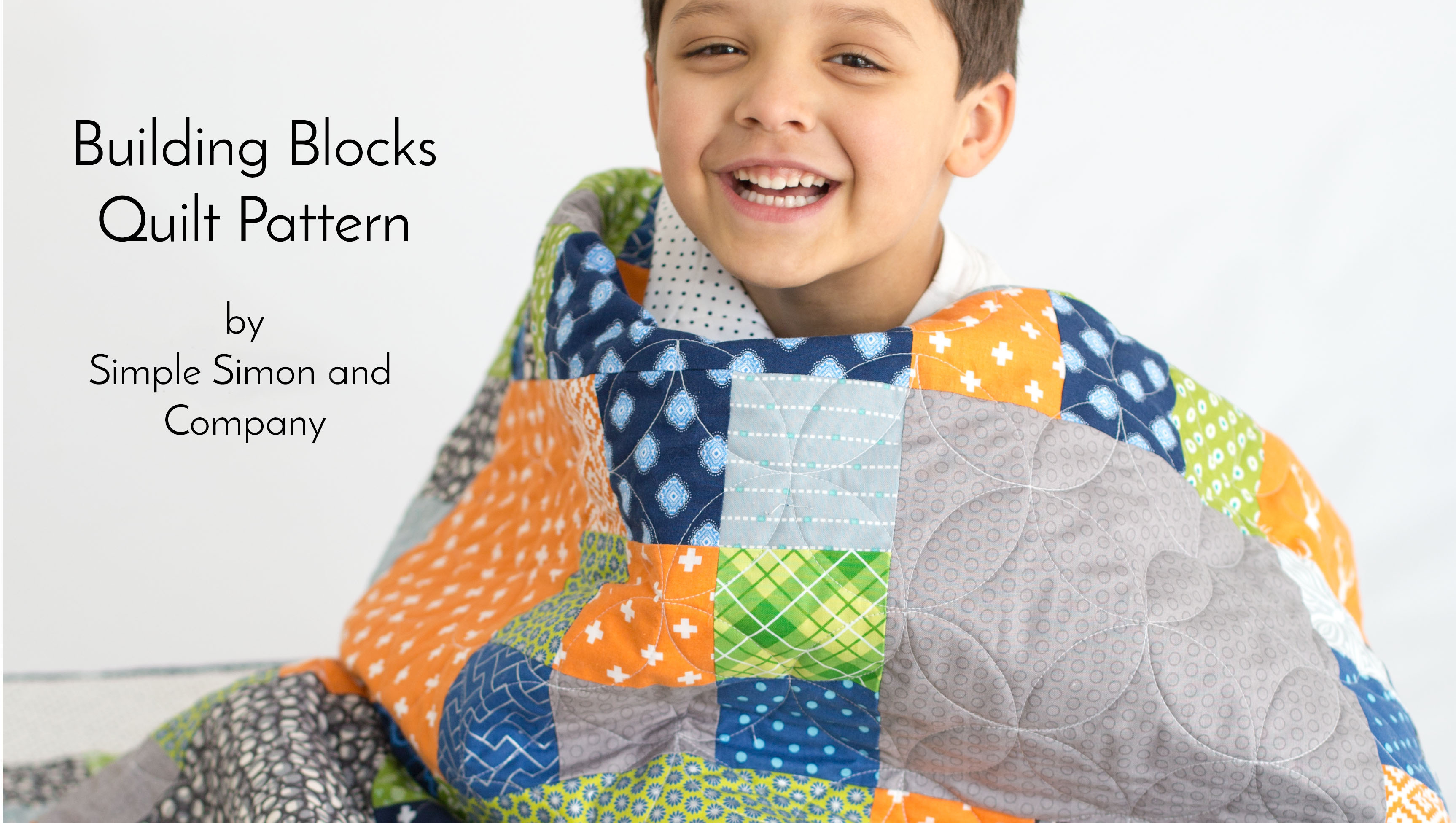 Building Blocks Quilt Pattern