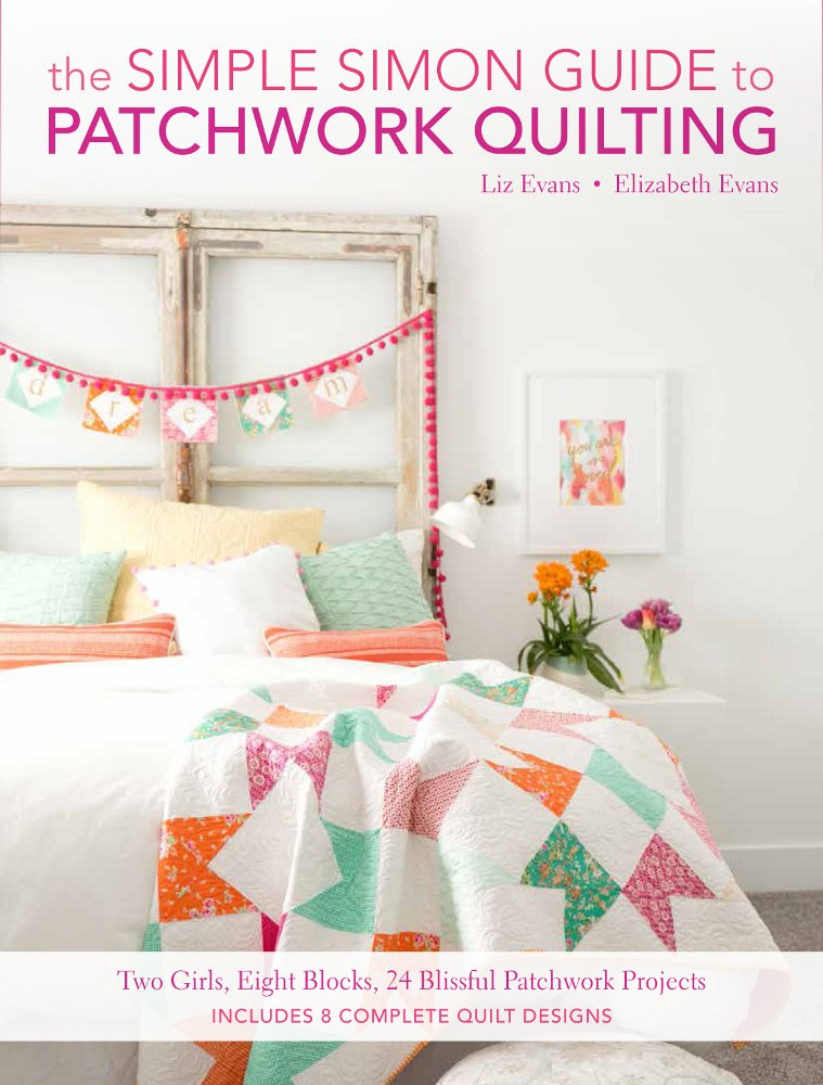 Simple Simon Guide to Patchwork Quilting Amazon COver