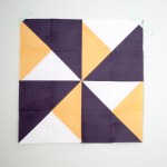 Quilt Block of the Month: The Double Pinwheel Quilt Block
