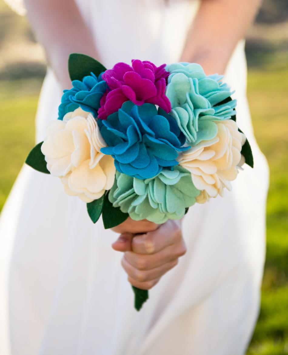 felt bouquet 3