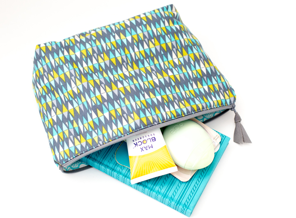 Zipper Pouch Tutorials 2