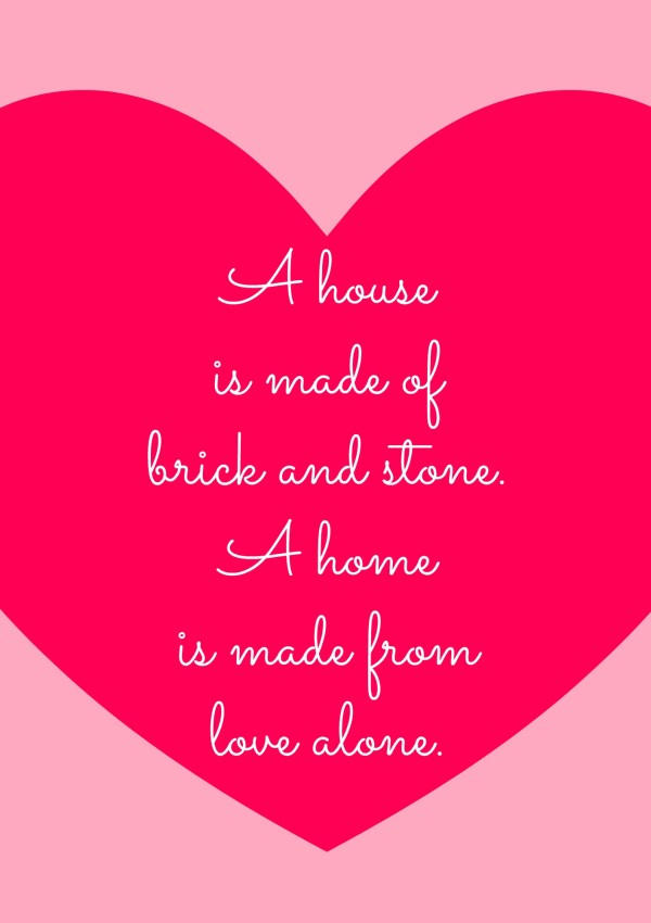 The Art of Homemaking:  On Choosing a Home