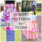20 Skirt Patterns for Teens