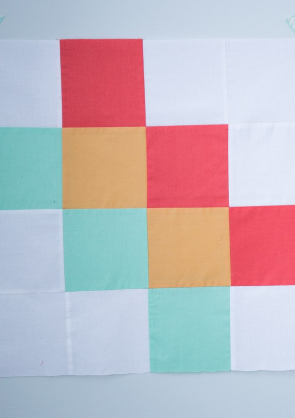 Quilt Block of the Month–On the Diagonal Quilt Block