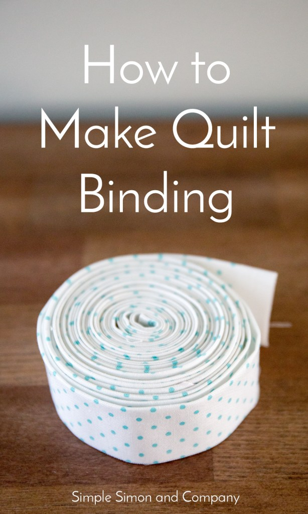 how to make quilt binding
