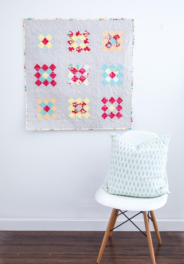 Granny-Squared Quilt Block