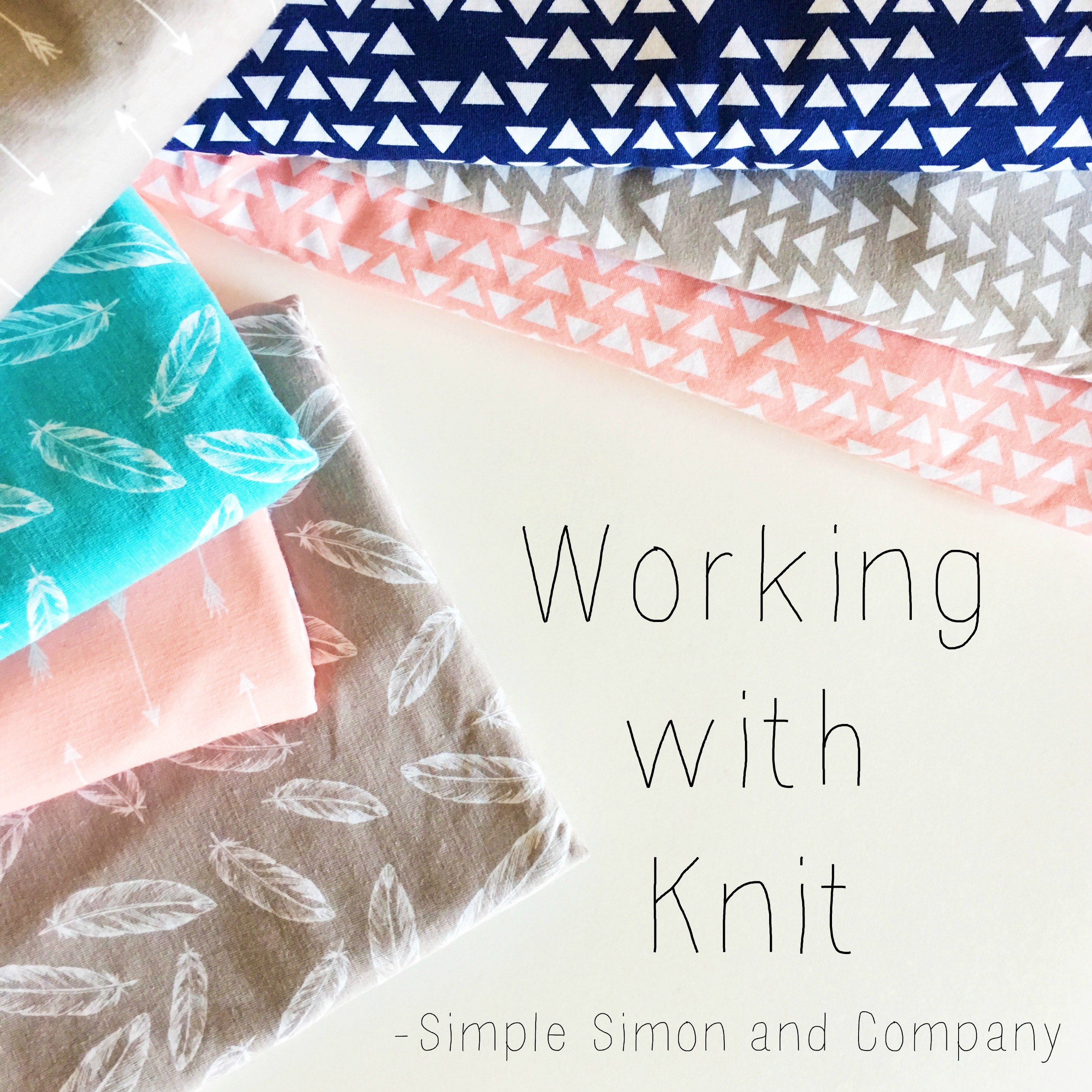 Working with knit