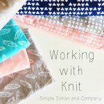 Tips and Tricks for Sewing With Knit