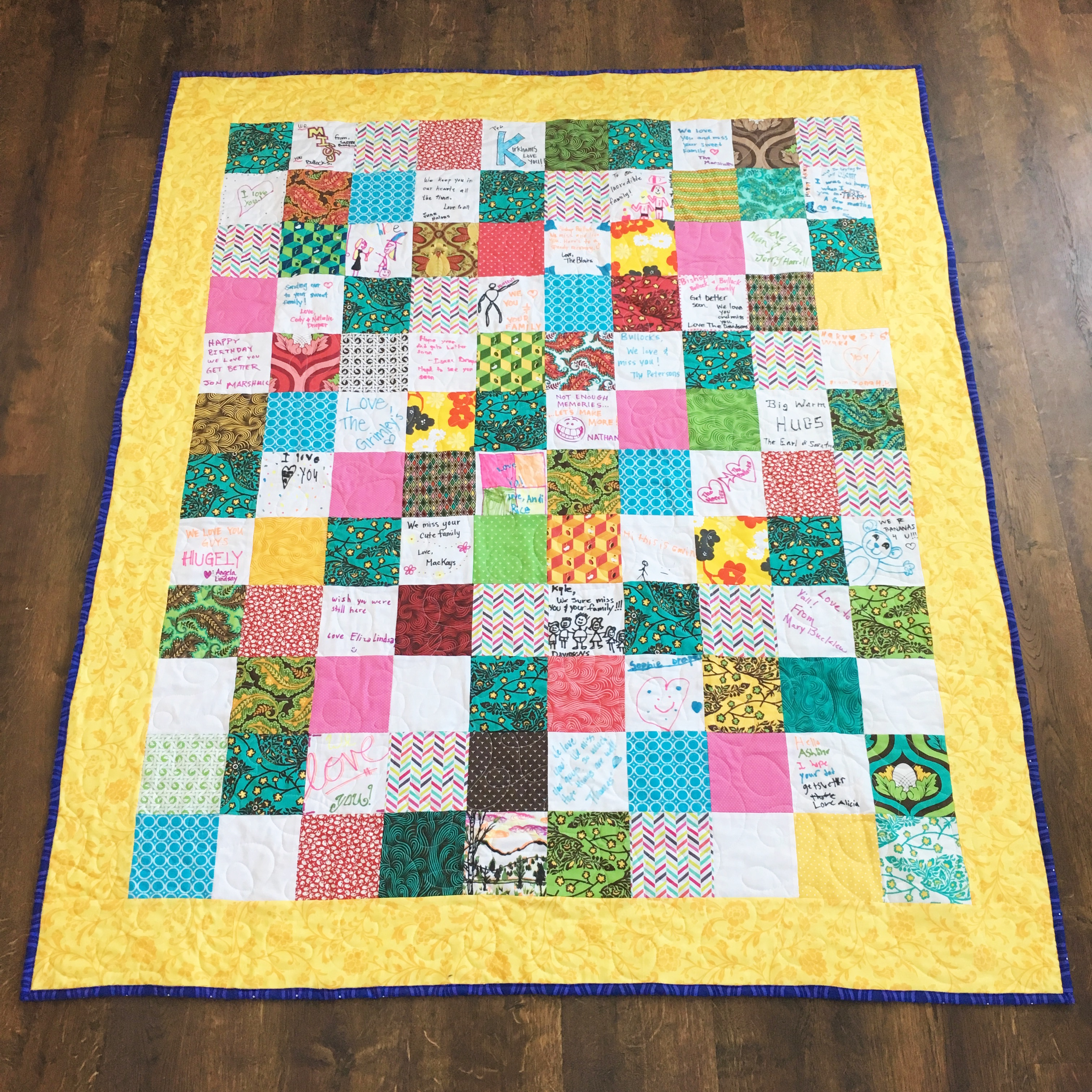 How To Make A Friendship Quilt Simple Simon And Company