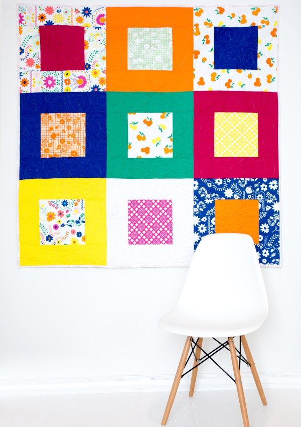 Picnic Quilt Tutorial (with Fiesta Fun fabrics)