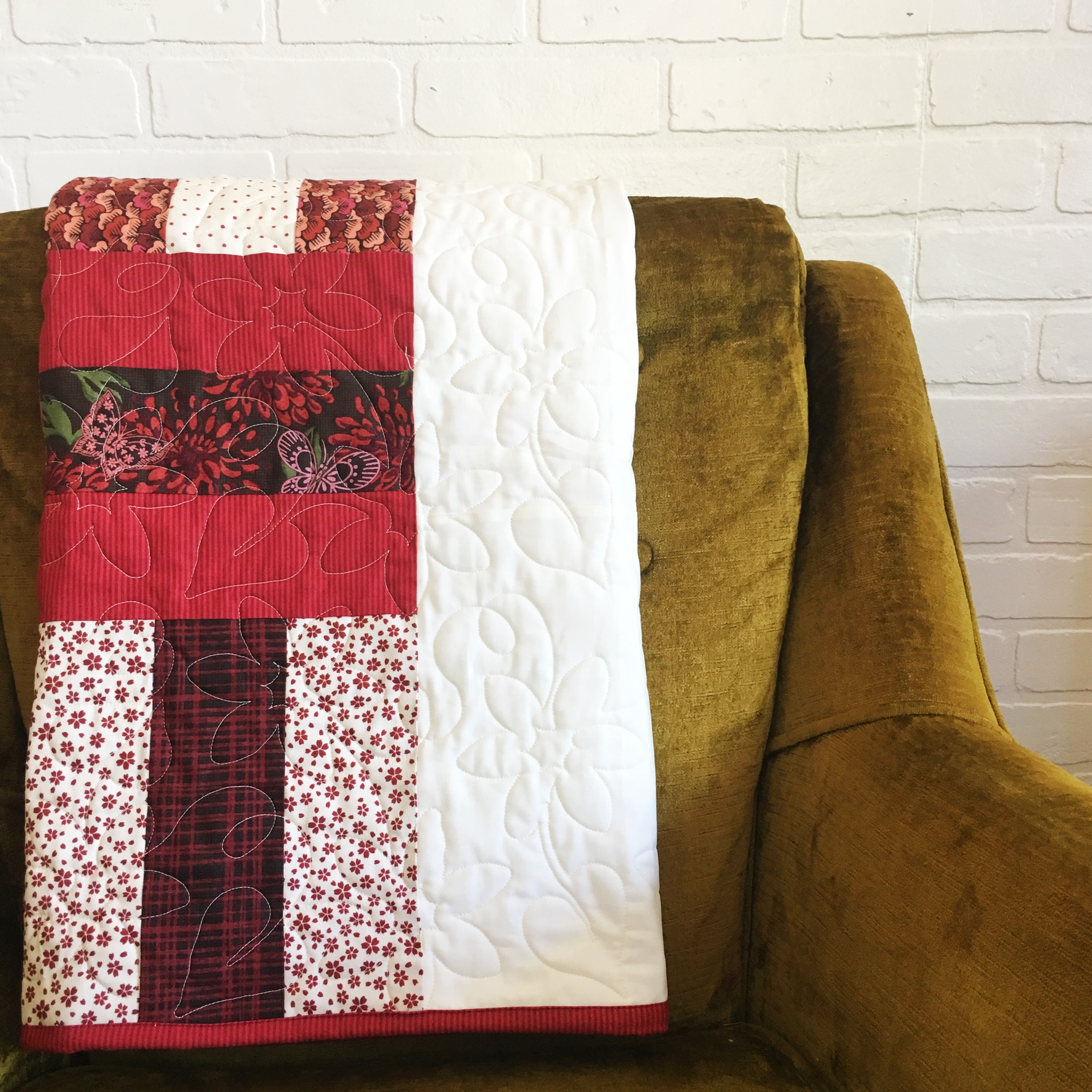 How To Make A Rail Fence Quilt Block Simple Simon And Company