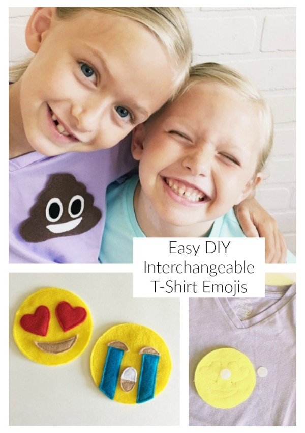 DIY Emoji Shirts