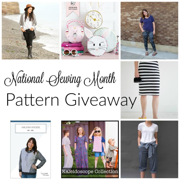 National Sewing Month Pattern Giveaway - Shwin and Shwin
