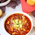 Slow Cooker Spooktacular Sweet Tortilla Soup with Is This Realy My Life