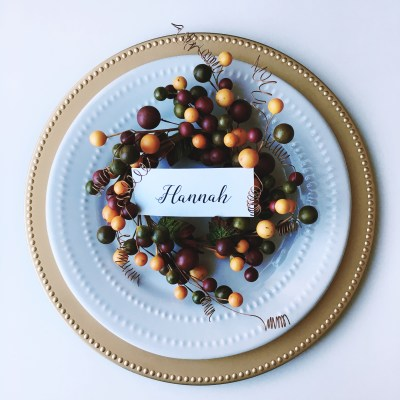 Easy DIY Place Card Holders