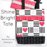 Shine Bright Tote Bag Tutorial