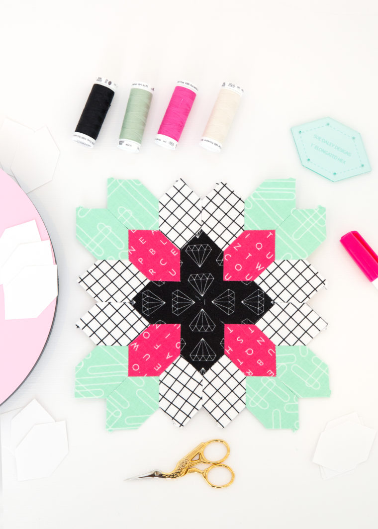 Shine Bright English Paper Piecing