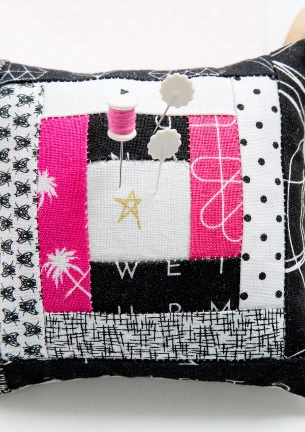 Quilt Blocks Turned Pincushions