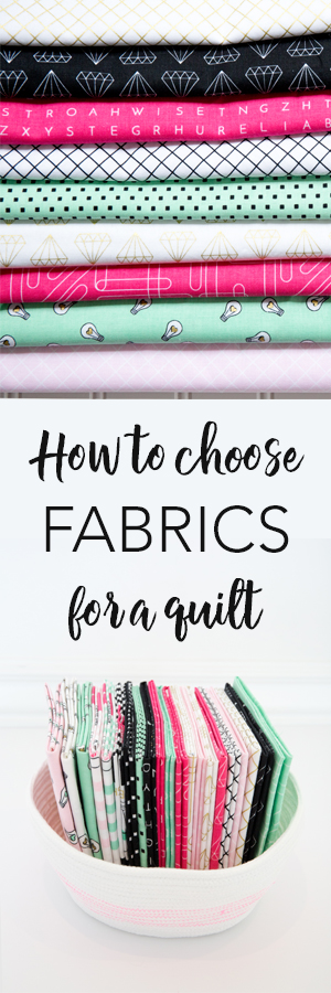 How to Choose Fabric for a quilt