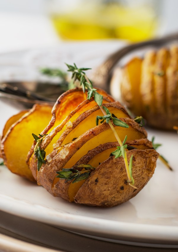 Accordion Roasted Potatoes Recipe