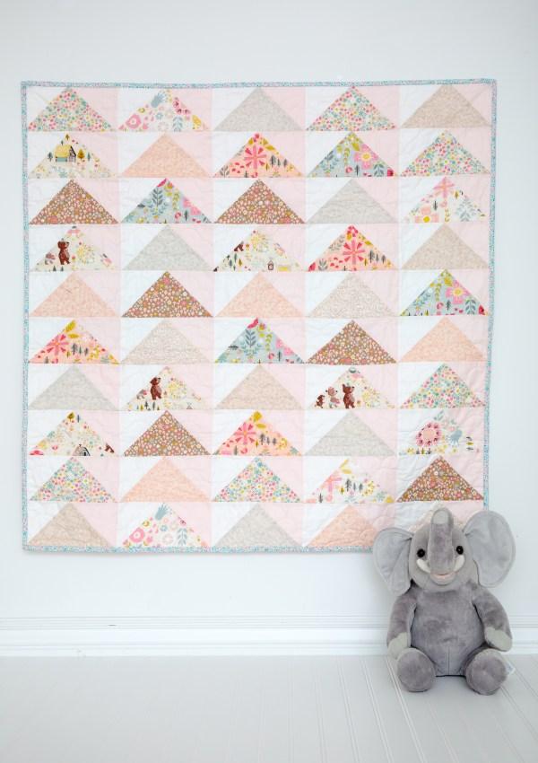 Take Flight Baby Quilt Pattern
