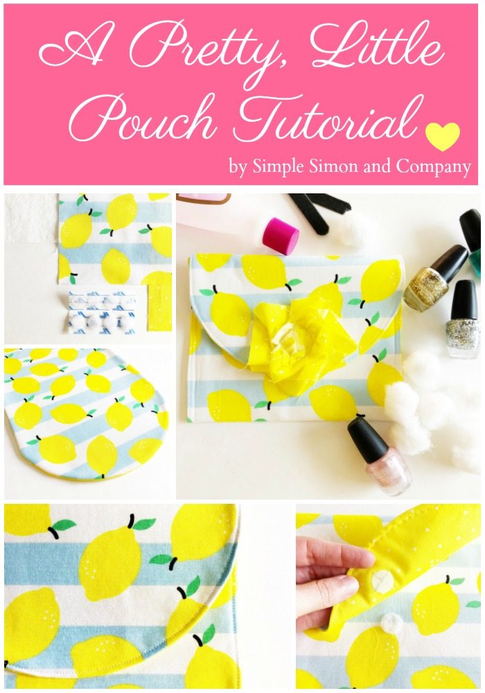 A Pretty, Little Gift Pouch Tutorial