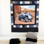 A Jeep Quilt (With a How-To)