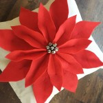 Poinsettia Pillow Pattern