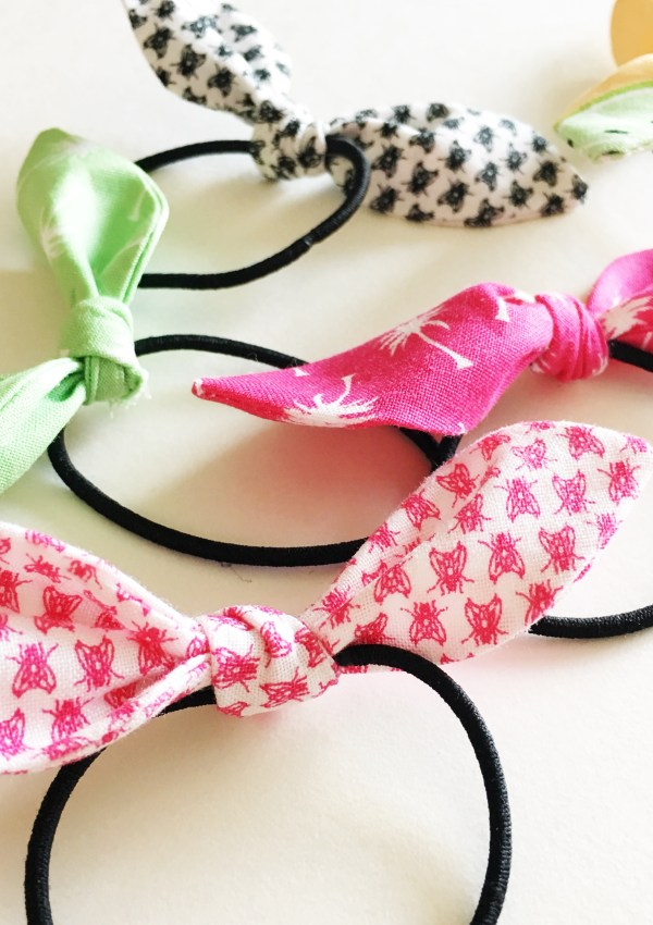 Hair Tie Bow Tutorial
