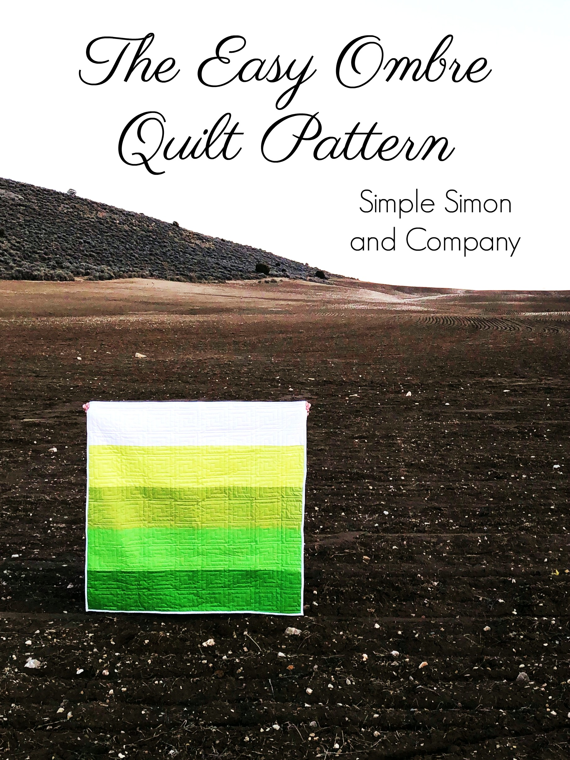 Easy Ombre Quilt Pattern