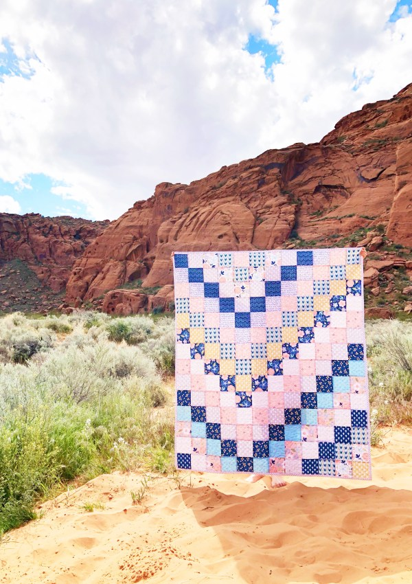 By Popular Demand Quilt in Azure Skies