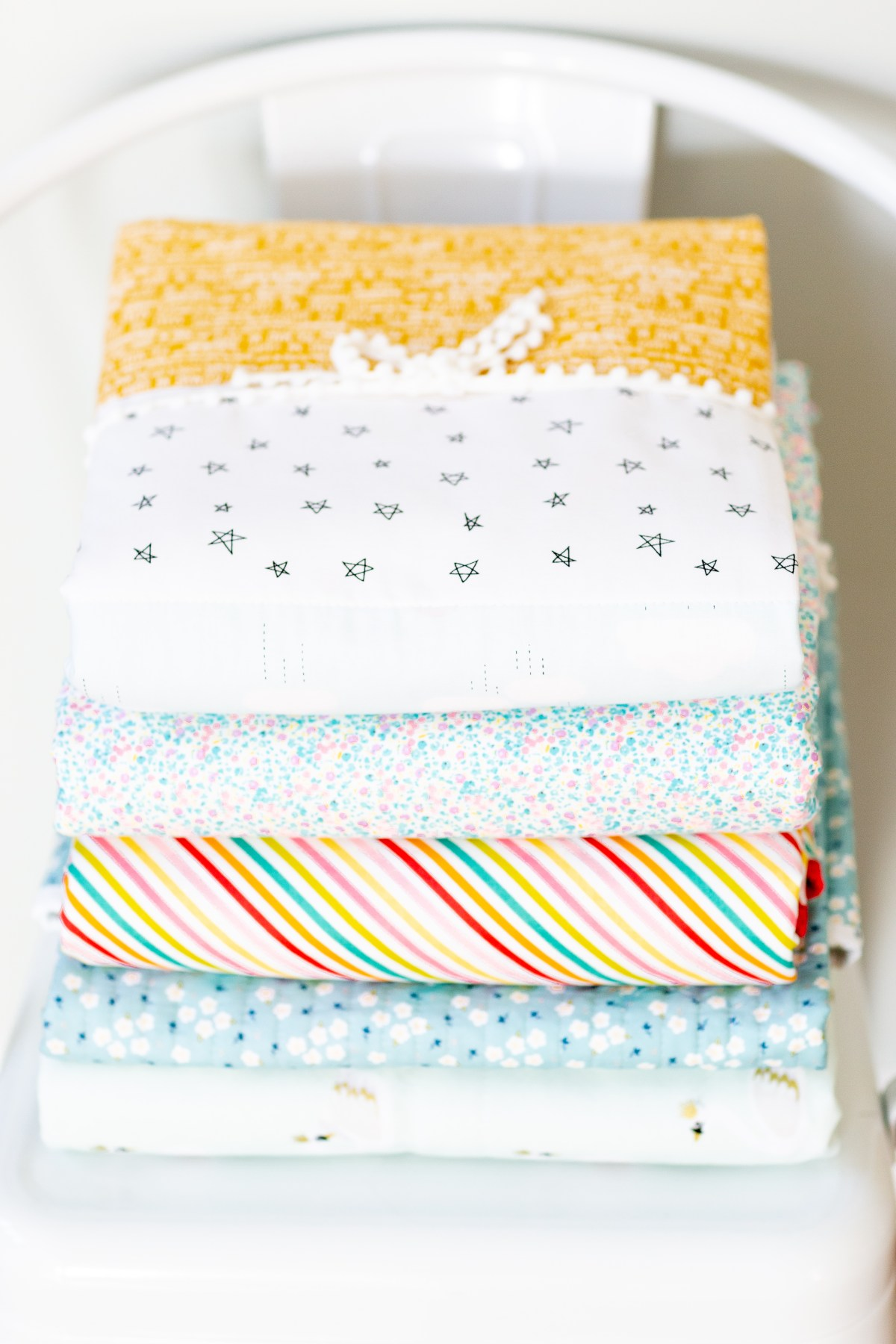 Whole Cloth Baby Quilt Tutorial 2