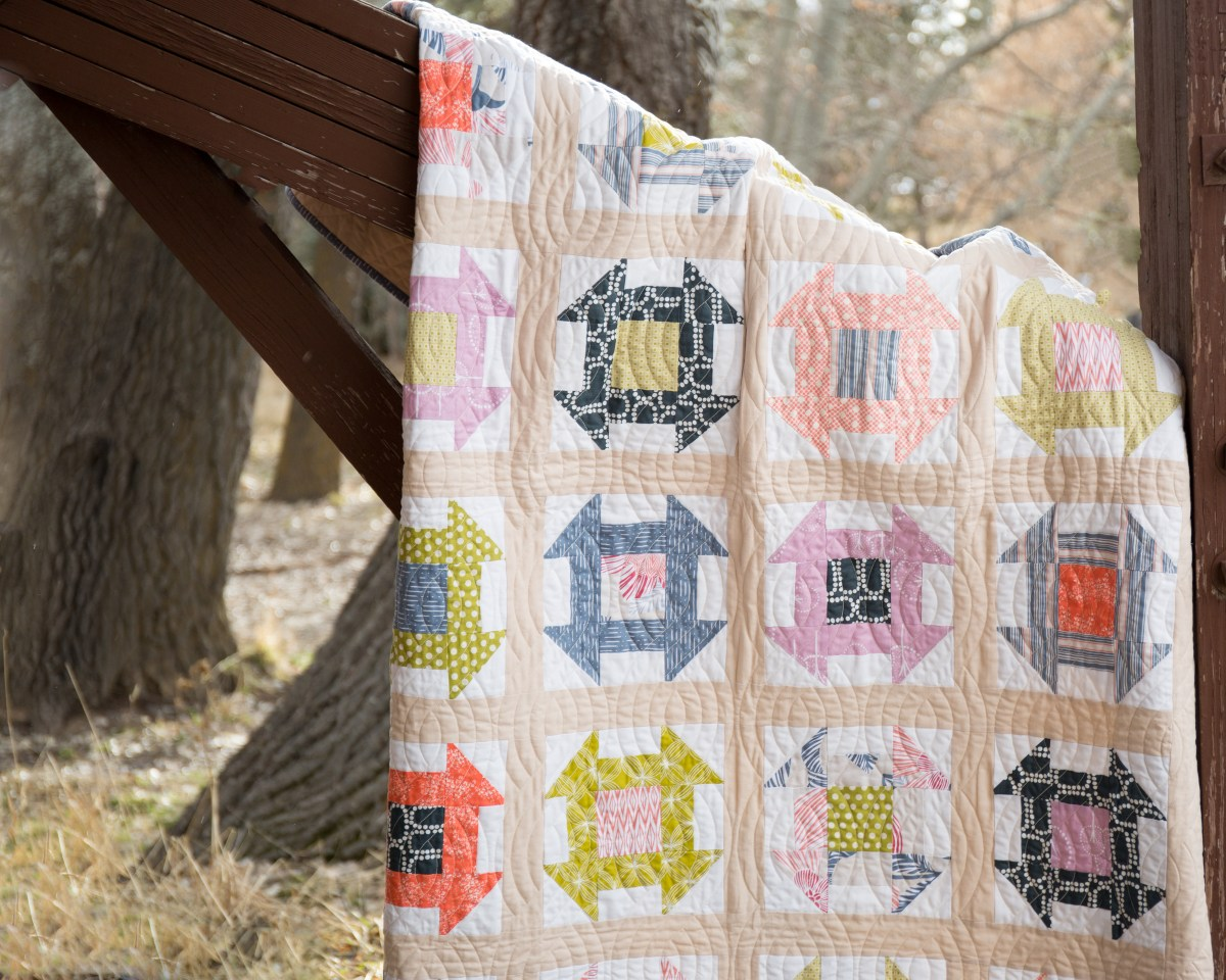 Charming Churndash Quilt Pattern Details