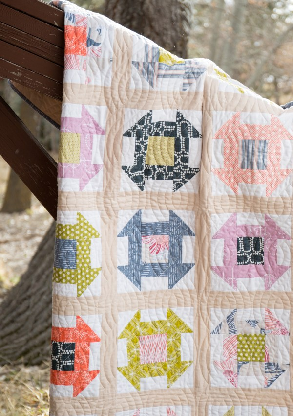 Charming Churndash Quilt Pattern